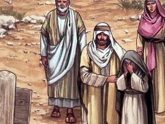 Jean est le seul apôtre qui soit resté auprès de Jésus au moment de sa mort. Juste avant de mourir, il lui confie sa mère.