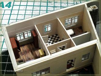 Fenster im Wohnbereich der Schmiede (Innenseite)