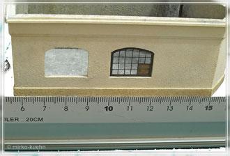 Fenster im Bereich der Schmiede