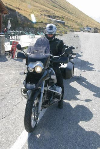 Am Col de Vars / frz. Alpen im Sommer 2009 mit der 1150 GS