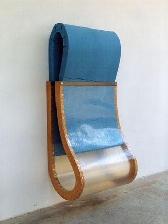 o. T., 1999, Holz, Kunststoff, Schaumstoff, Schrauben, 185x80x64,5cm