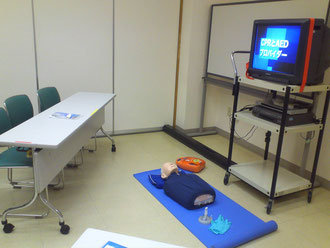 AED 応急救護 中野 出張講習