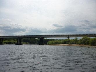 Мост в пос. Верхний Красный Яр