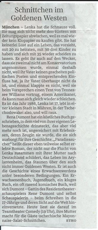 SÜDDEUTSCHE ZEITUNG 17. April 2013
