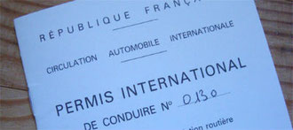 permis international de conduie
