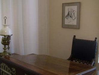 ガウディが作業した机。