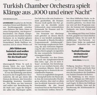 Rheinische Post, 12. März 2013