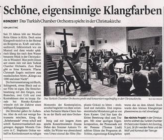 Kölner Stadtanzeiger, 12. März 2013