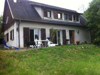 La maison avec la terrasse