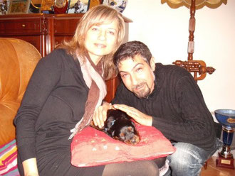 Pietro e Svetlana col piccolo Maty - Destinazione Montespertoli (FI)