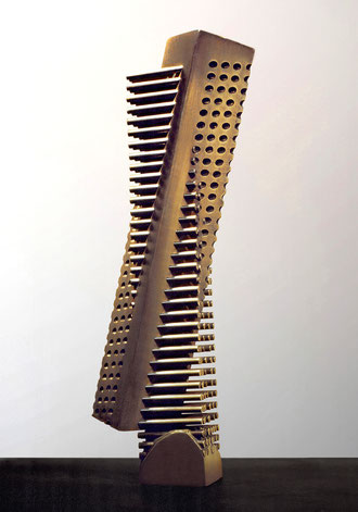 Wave  No.2 <No.K-08>   1984 / brass(真鍮) / H.30x7x5cm