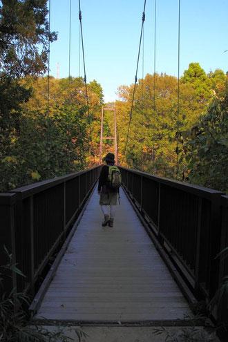 吊り橋があった
