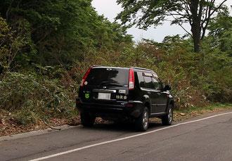 写真16 クワガタハンターの車