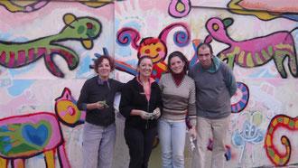 Mural en el Jardín 907 Maestra Silva Mayo/Junio 2011