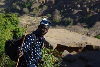 Souleymane, notre guide : un brin arnaqueur mais tout de même un bon guide