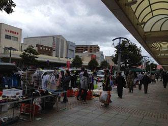 銚子駅前フリーマーケット