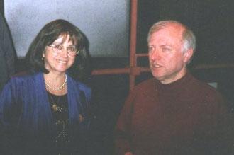 Michèle EJNES REUBEN et Alain LOUVIER. Mars 2003 Salle d'Art Lyrique Conservatoire de Boulogne.