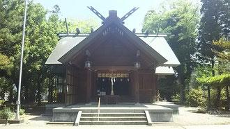 十社大神 御社殿