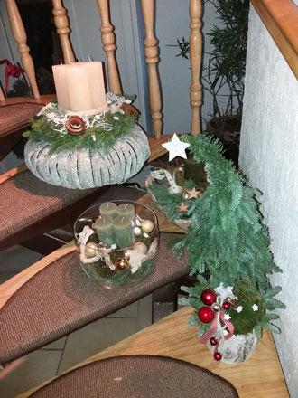 Moderne Weihnachtsdekoration