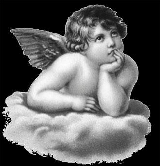 Задумчивый ангелочек