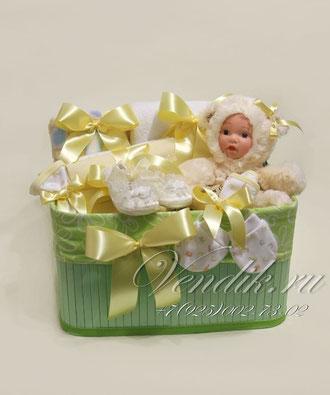 """©Подарочный набор для новорожденной девочки """" Милашка"""""""