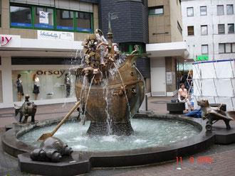 Fontaine à Koblenz
