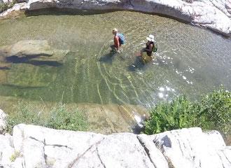 Randonnée aquatique Sardaigne