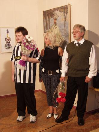 Misha Schigolev + Alyna Shchygoleva + Oleg Schigolev