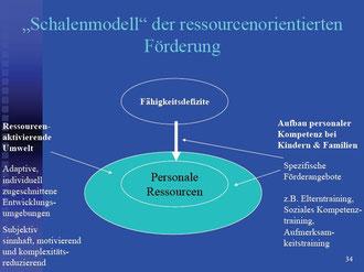Auszug aus der Dokumentation: Vortrag Prof. Michael Fingerle, Universität Frankfurt/Main