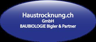 Logo Haustrocknung verlaufend