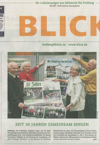 """April 2012, """"BLICK"""""""