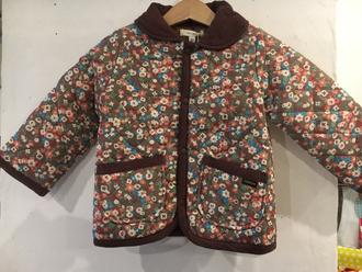 セラフ                    中綿キルトジャケット(S401016)        (size 90・100・110・130・140㎝)    ¥4.900+税