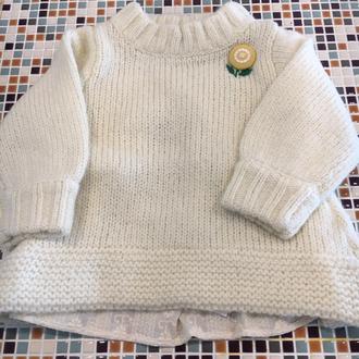 Seraph                    後ろ切り替えニットセーター(S513016)    (Size 90・100・120・140㎝)       ¥3.600+税