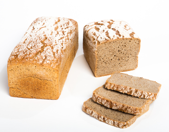 Feinschmeckerbrot:  100 % Rye : Whole rye , Rye meal, White rye , Natural sour , Salt and yeast