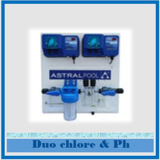 centrale de traitement d'eau ph et chlore