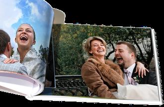 Полиграфические фотокниги состоят из гибких страниц