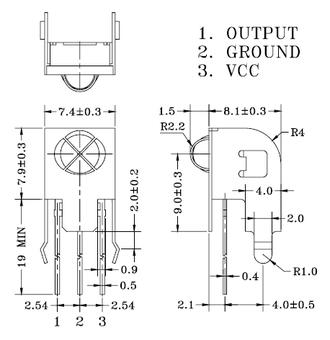 Receptor infrarrojo PCM - PIC2031
