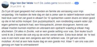 Recensie Judas Game Zwolle centrum