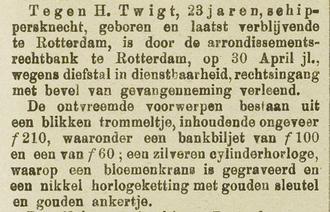 Rotterdamsch nieuwsblad 04-05-1885