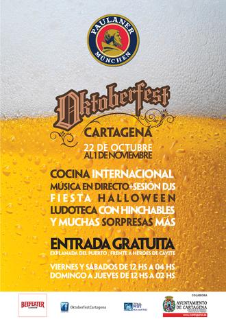 Oktoberfest en Cartagena: conciertos