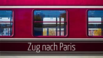 Zug nach Paris