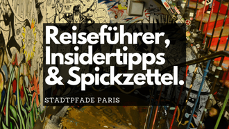 Stadtpfade Paris Reiseführer