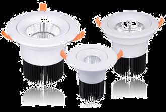 LED Downlights dreh- und schwenkbar oder fix (siehe Downlights)