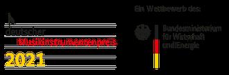 Logo des deutschen Musikinstrumentenpreises 2021