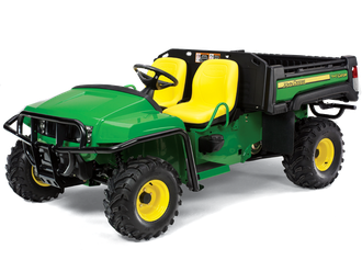 small 4x4 used utility vehicle like the Gator form John Deer