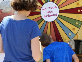 activité pédagogique enfants raisin vin anjou