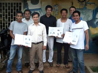 Equipe à RDI - Cambodge