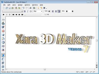 Xara 3D maker 7