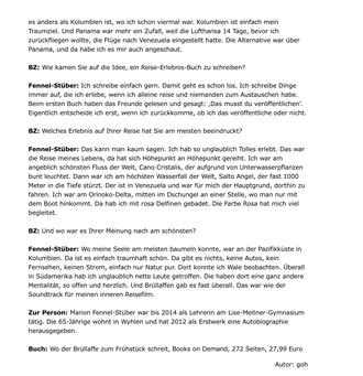 Badische Zeitung vom 07.03.2017