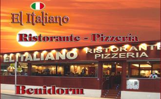 Restaurante italiano recomendado en Benidorm
